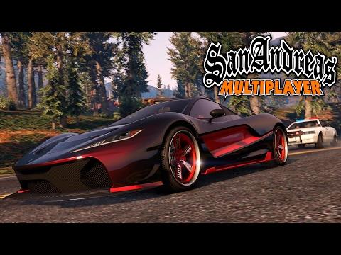 GTA San Andreas Multiplayer (Samp) - МЕГА ЭПИЧНЫЕ ГОНКИ!