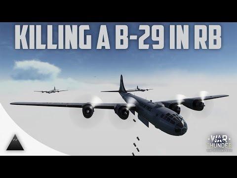 War Thunder Killing a B-29! Tough as Nuts!