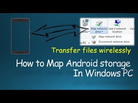 How to Map Android Storage as a Network Drive in Windows PC wirelessly Map Network Location on petra map, sprint fiber map, water distribution map, us open map, uk rail map, concept map, financial map, mexico city street map, southern railway map,