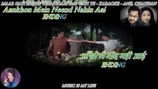 Maar Gayi Mujhe Teri Judaai - Karaoke With Scrolling Lyrics Eng. & हिंदी For Haneef