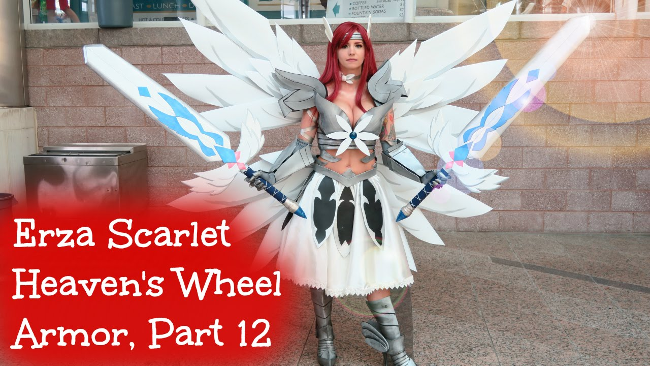 Erza Scarlet Heaven S Wheel Armor Cosplay Part 12 Youtube