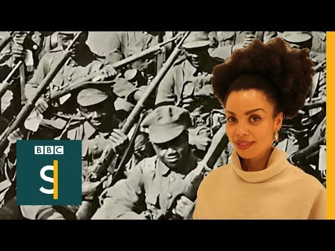 Alt History: White-washing Black Soldiers From WW1- BBC Stories