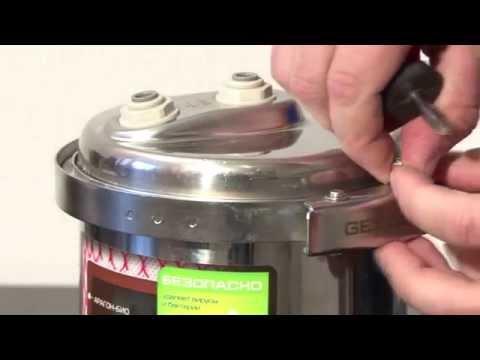Фильтр для воды Гейзер Эко - замена картриджа