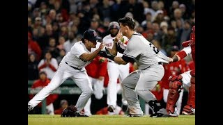 Yankees vs Red Sox Brawl! Aaron Judge and Giancarlo Stanton React's