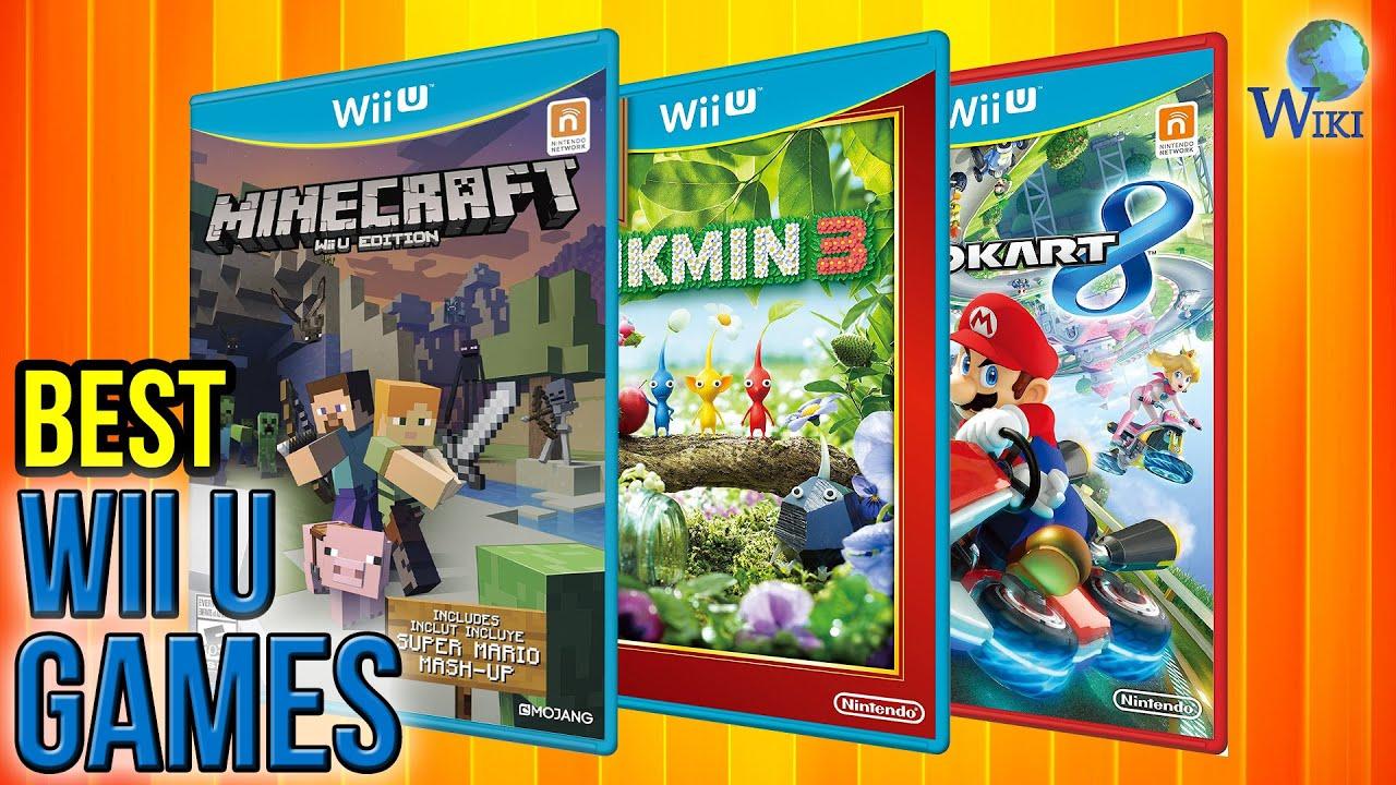 10 Best Wii U Games 2017 Youtube