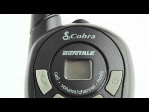 cobra microtalk cxt135 owners manual