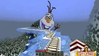 Minecraft: MONTANHA RUSSA QUE ATRAVESSA DIMENSÕES?! (Multiverse Rollercoaster)