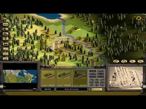 Railroad Tycoon 2 Platinum - 06 - Classic Campaign: Crossing the Great Divide