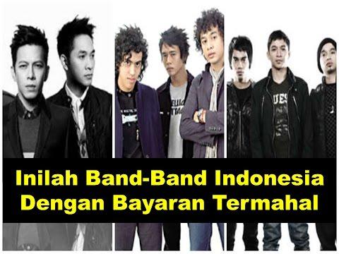INILAH !! Band-band Indonesia Dengan Bayaran Termahal