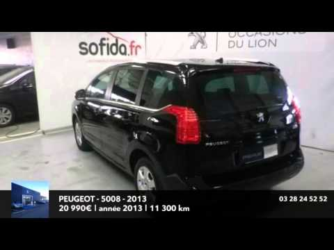 annonce occasion peugeot 5008 1 6 hdi 112 family 5 places 2013 youtube. Black Bedroom Furniture Sets. Home Design Ideas