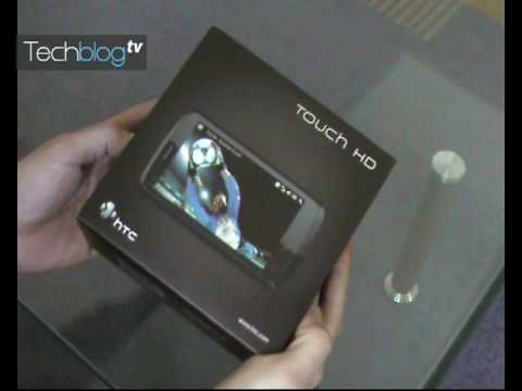HTC Touch HD unboxing (Greek)