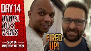 $25k Fantasy DRAMA has people FIRED UP! - 2019 WSOP VLOG DAY 14
