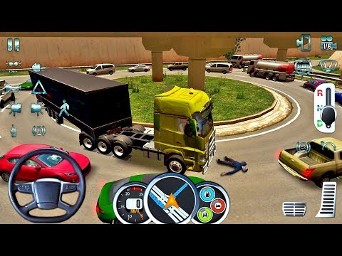 Euro Truck Driver 2018 #14 TRAFFIC FAIL! - New Truck Game Android gameplay #truckgames