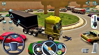 Euro Truck Driver 2018 #14 Traffic Fail! - New Truck Game Android Gameplay #truc
