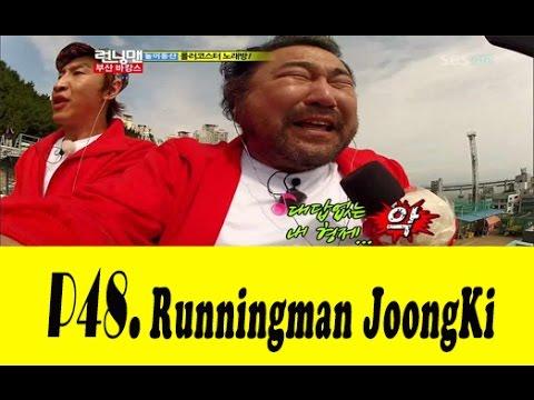 Funny Song Ji Hyo Kang Gary Lucky Telepathy Game   Karaoke Rollercoaster Lee Kwang Soo Song Ji Hy