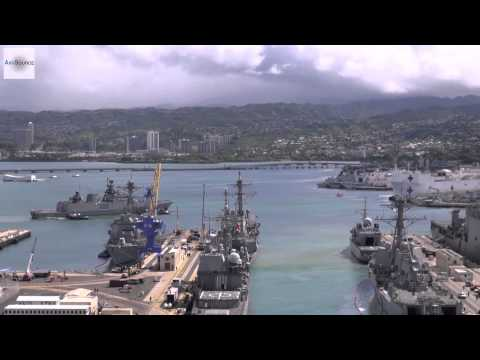 Indian Navy Stealth Frigate Arrives at Pearl Harbor for RIMPAC 2014