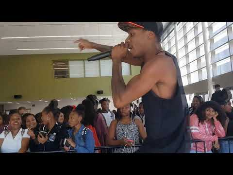 CHAMP Performing @ Lawndale High School w. Fresco G | CLASSCFIED TOURS | Tyler K. Moore
