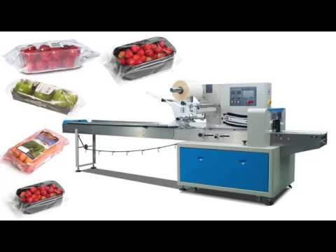 Automatic Fruit And Vegetable Packing Machine.Cherry Tomatoes