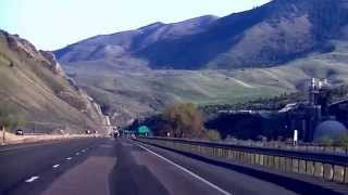 Burnt River Canyon - Baker City to Huntington, Oregon - I-84
