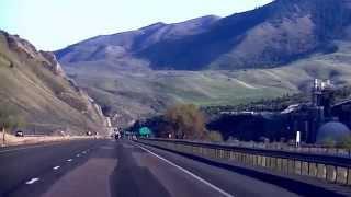 Burnt River Canyon - Baker City to Huntington, Oregon - I-84