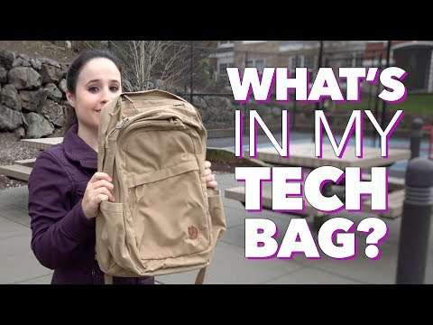 What's In My Tech Backpack? (Fjallraven Raven 28L)