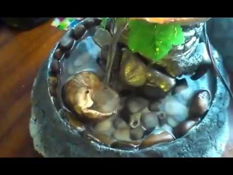 видео: Мини фонтан своими руками