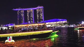 NIght time river cruise in singapore