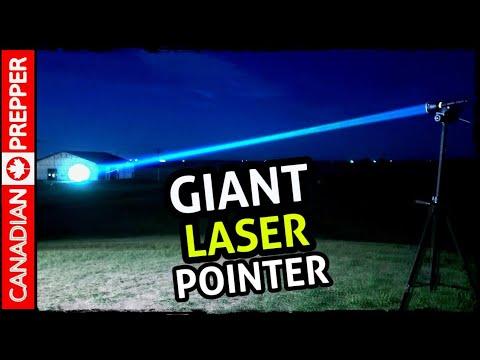 2019   Brightest LASER Pointer Flashlight 1,500,000 Beam Intensity   Acebeam W30