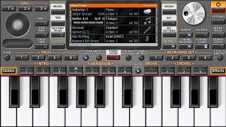 IPL music Theme Play On Mobile Piano App ORG 2019 ||