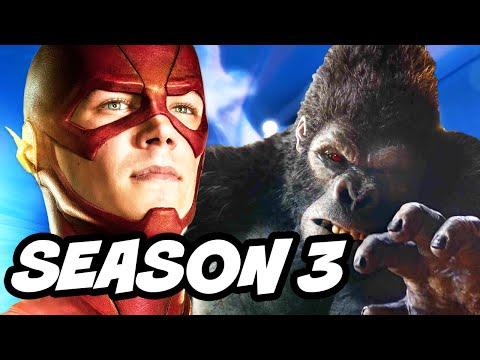 The Flash Season 2 - Grodd and Gorilla City Returning