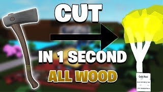 New Roblox - Lumber Tycoon HACK - CUT ALL WOOD 1 SEC BASIC AXE✔️UNLIMITED MONEY✔️AUTOSELL AND MORE