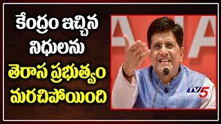 Central Minister Piyush Goyal Reacts On Talasani Comments | Central Funds | TV5
