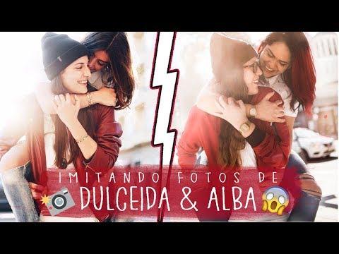 IMITANDO FOTOS DE DULCEIDA Y ALBA    NOVIAS   #DULCEALBA