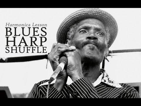 Harmonica Lesson: Blues Harp Shuffle (Big Walter Horton)