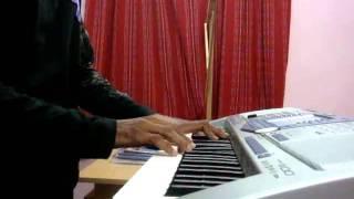 Ninaithu ninaithu paarthal piano cover by Naveen Selva .flv