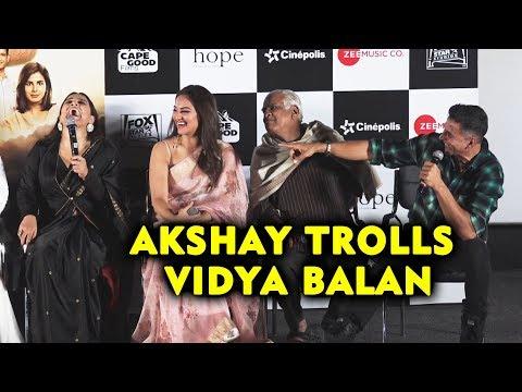 Akshay Kumar TROLLS Vidya Balan At Mission Mangal Trailer Launch Mp3