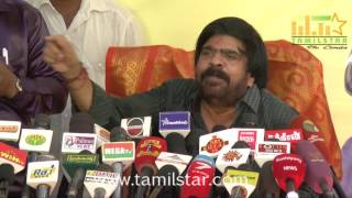 Actor T Rajendar Press Meet