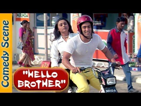 Salman Khan Comedy Scene - Hello Brother  - Arbaaz Khan - Rani Mukerji-  Shemaroo Bollywood Comedy