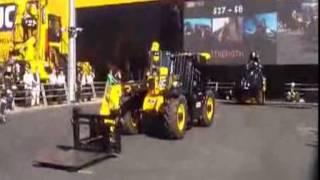 2013 Munich JCB bauma exhibition equipment performance video