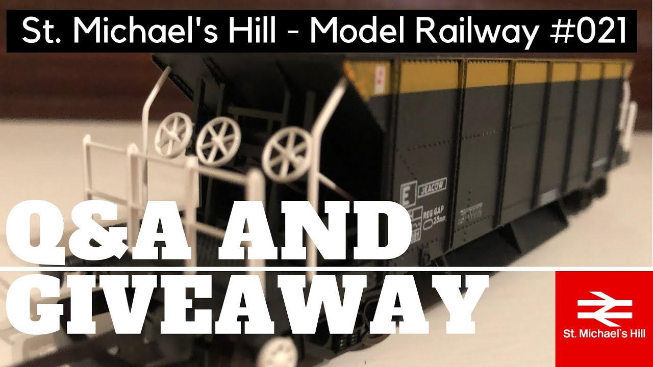 St  Michael's Hill Model Railway Ep 21 - Q&A and Wagon Prize Draw
