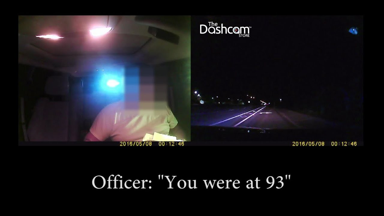 Did a dashcam prevent this driver from getting a ticket (or worse)?