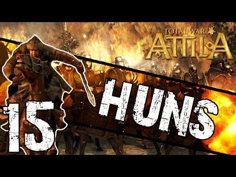 Total War: Attila - Huns Campaign #15 ~ Raze It To The Ground!