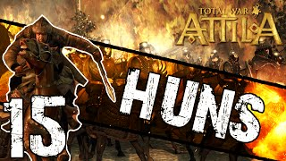 Total War: Attila - Huns Campaign #15 ~ Raze It To The Ground!