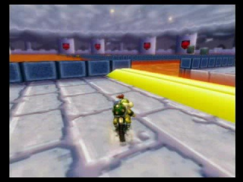 Mario Kart Wii Gba Bowser Castle 3 Shortcut No Mushroom