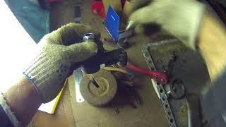 2. Снятие и установка рулевого наконечника Lada kalina