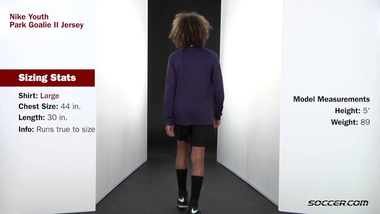 4022566ee Nike Long Sleeve Park Goalie II Jersey - YouTube