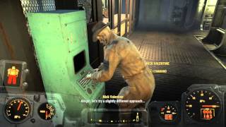 Fallout 4 Nick Valentine PERKS Master Hacking CONFIRMED