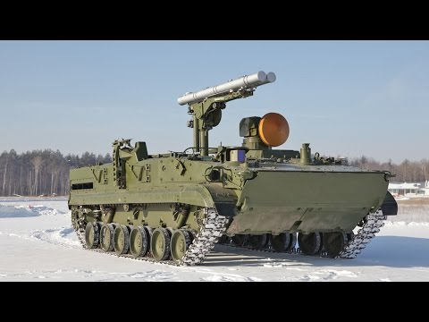 Khrizantema S Tank Destroyer : Voennoe Delo / English Subtitles