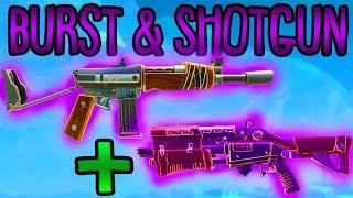 SHOTGUN + BURST TRICK! | (Sehr schnell) | Fortnite Battle Royale