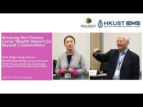 """Roger King & Winnie Peng: Breaking the Chinese Curse """"Wealth Doesn't Go Beyond 3 Generations"""""""